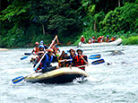 White water rafting season in Kitulgala